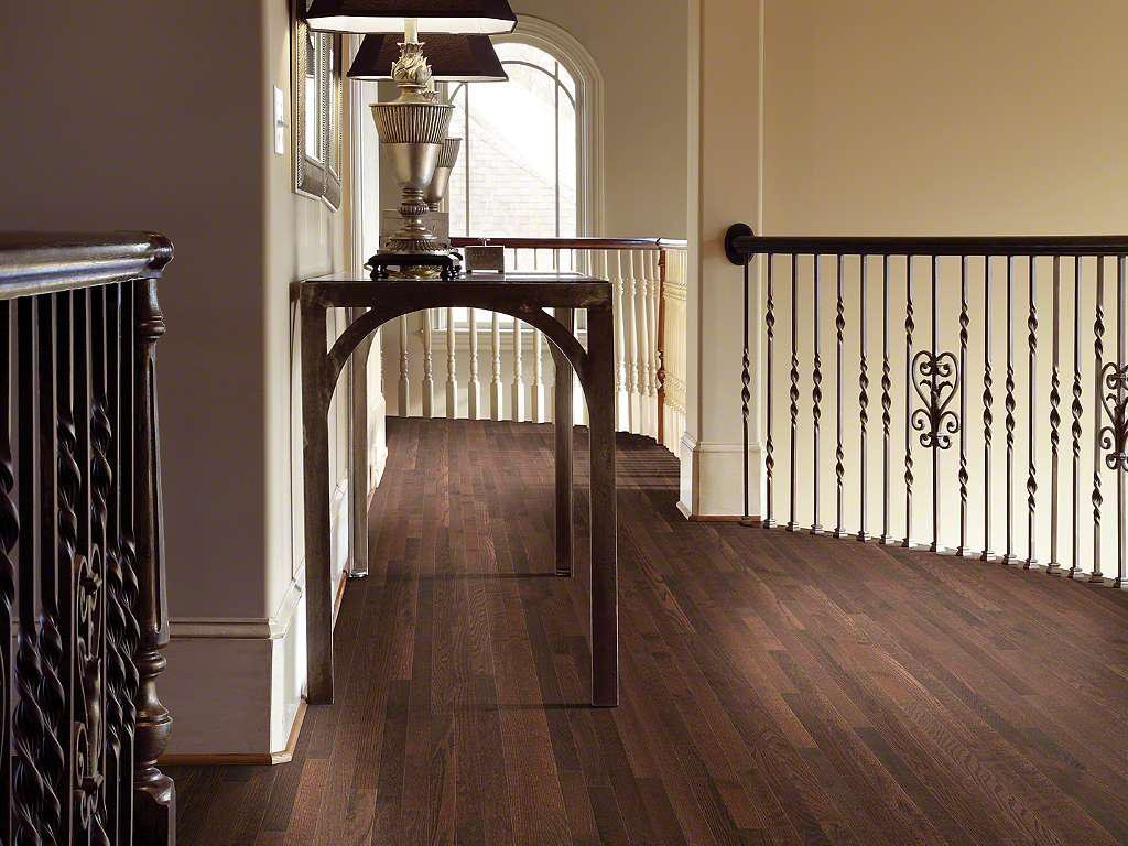 Dark Hardwood Floor Decorating Idea Susie Living Room Staining Wood Floors With Dark Color