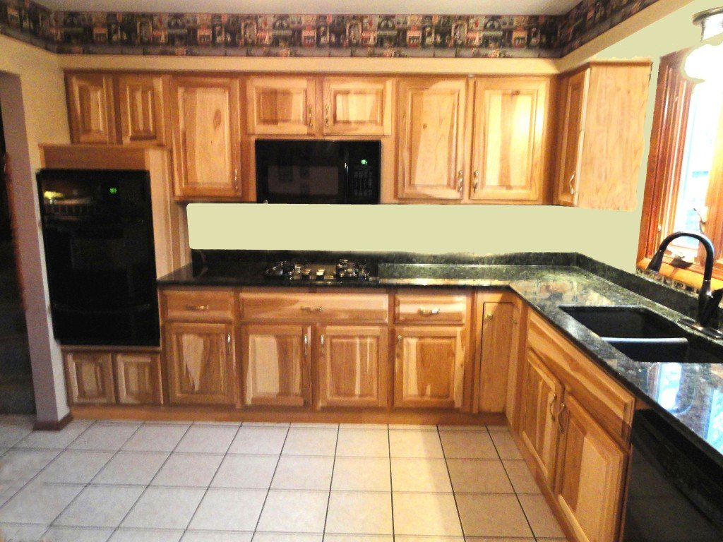 Dark Stained Oak Cabinets Kitchen Hickory Cabinet Staining Kitchen Cabinets Ideas