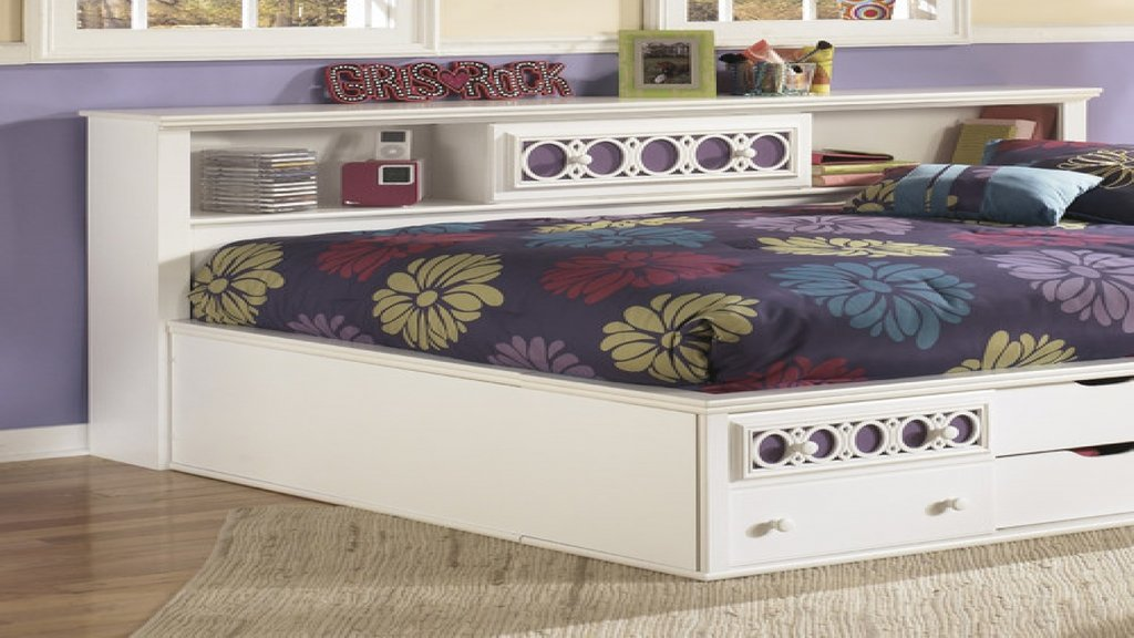 Daybed Bookcase Trundle Ashley Furniture How Make Queen Bookcase Headboard