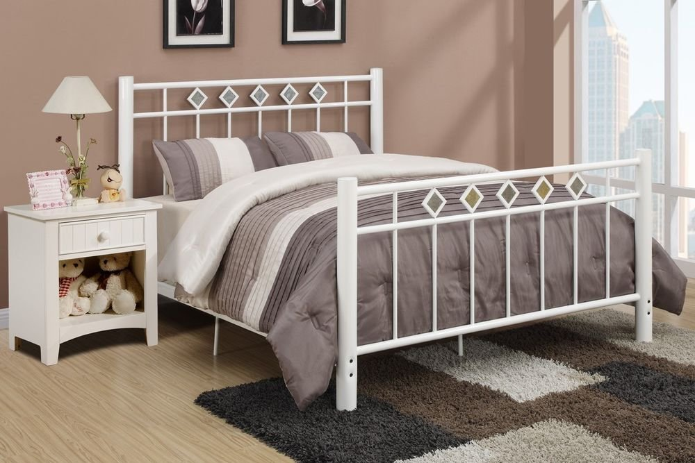 Decorate Room White Wrought Iron Bed Home Idea Making An Wrought Iron Headboard