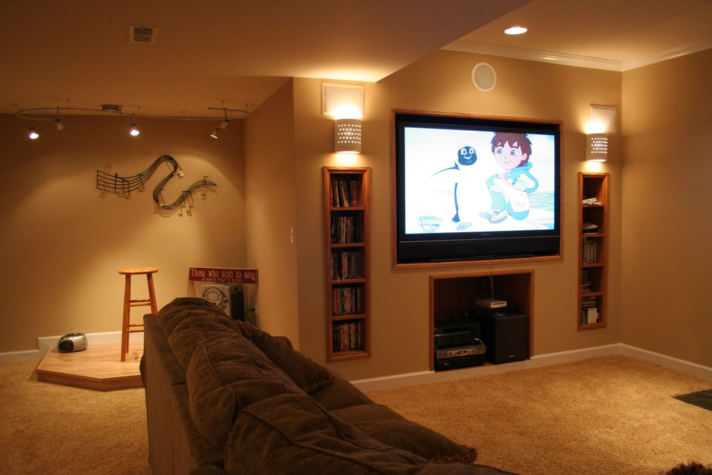 Decoration Idea Finishing Basement Wall Wood Paneling Makeover Remodel