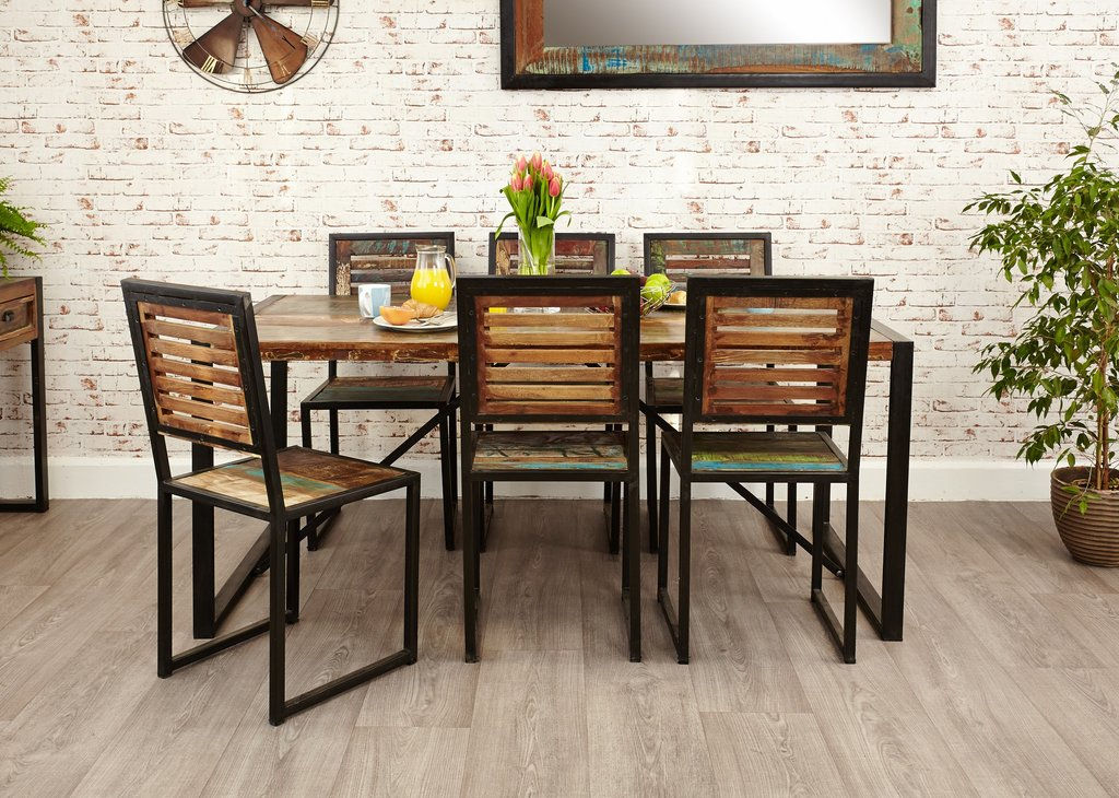 Dining Room Contemporary Industrial Dining Table Bar Height Table Legs Decor