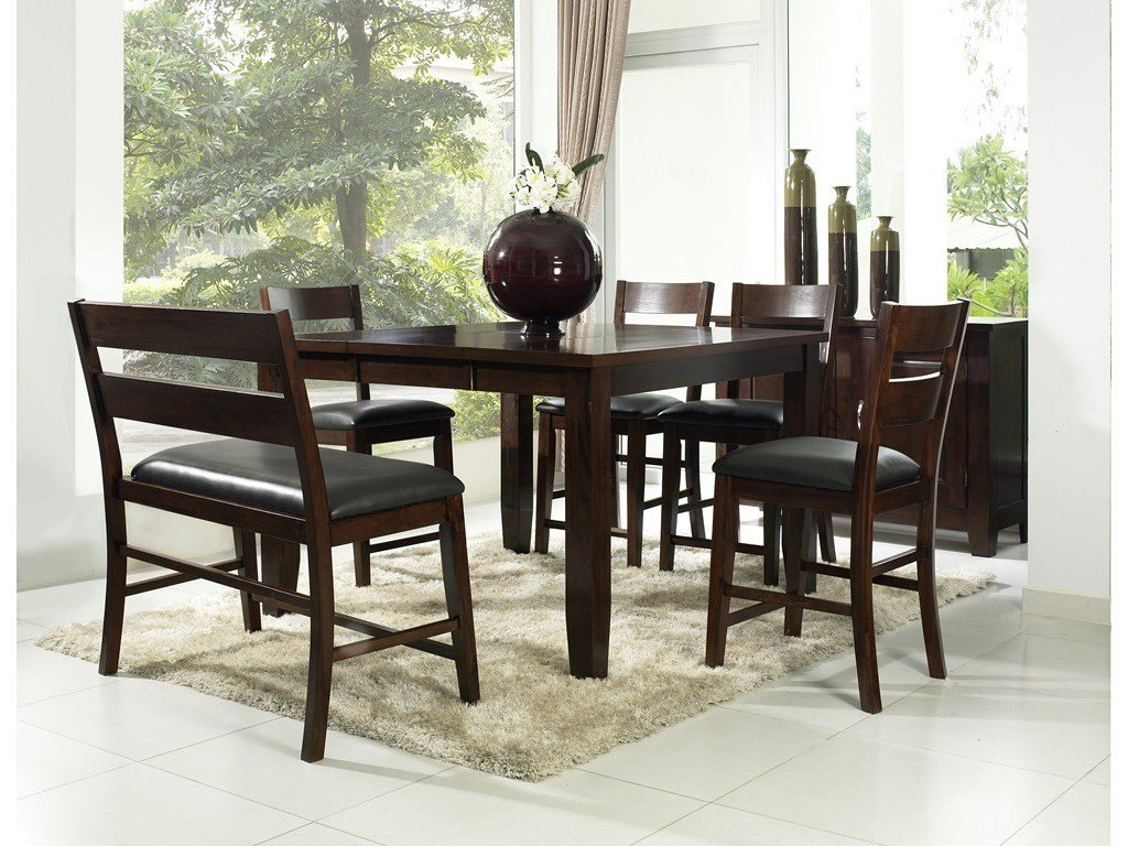 pub style dining room tables | Pub Style Dining Sets Seats 8 – Loccie Better Homes ...
