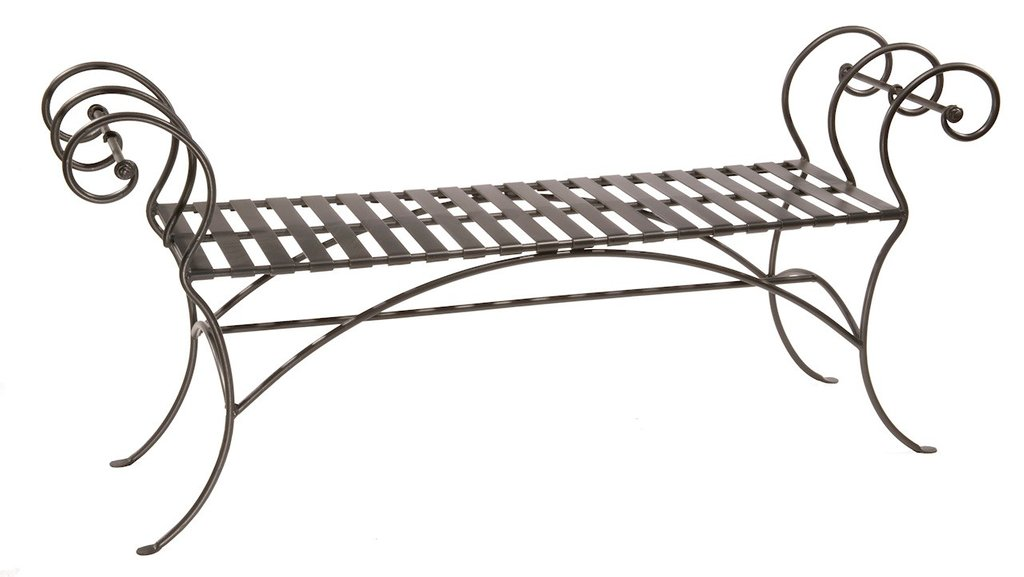 Dining Room Table Benches Outdoor Wrought Iron How To Restore Wrought Iron End Tables