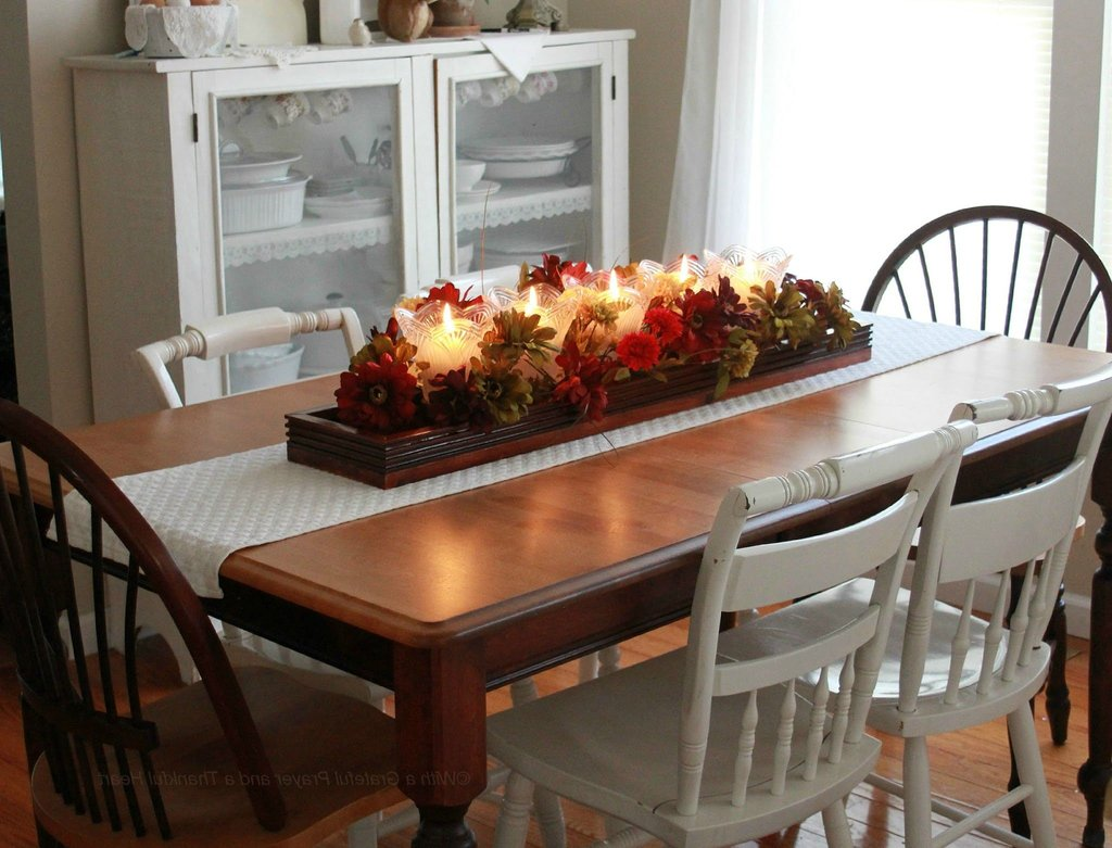 everyday centerpieces for dining room tables | Making Dining Room Table Centerpieces – Loccie Better ...