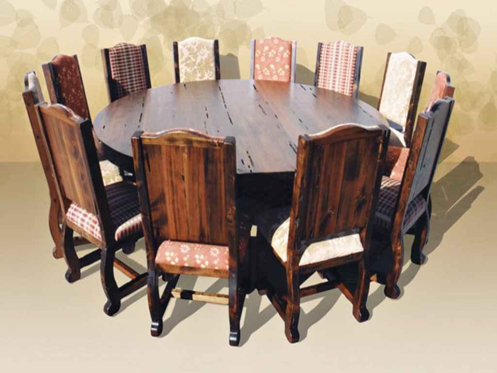 Dining Room Table Seat 12 Big Family Homesfeed How To Build Round Wood Table Tops