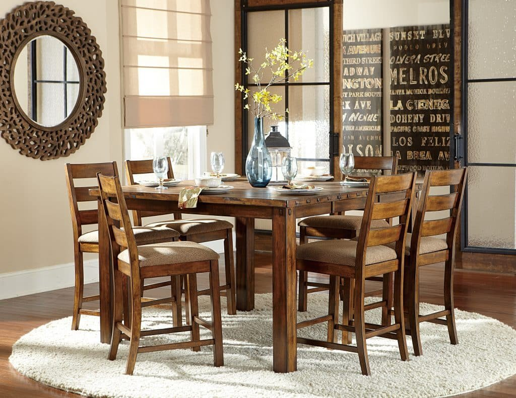 Dining Set Model Home Furnishing Restaurant Table Tops Plan