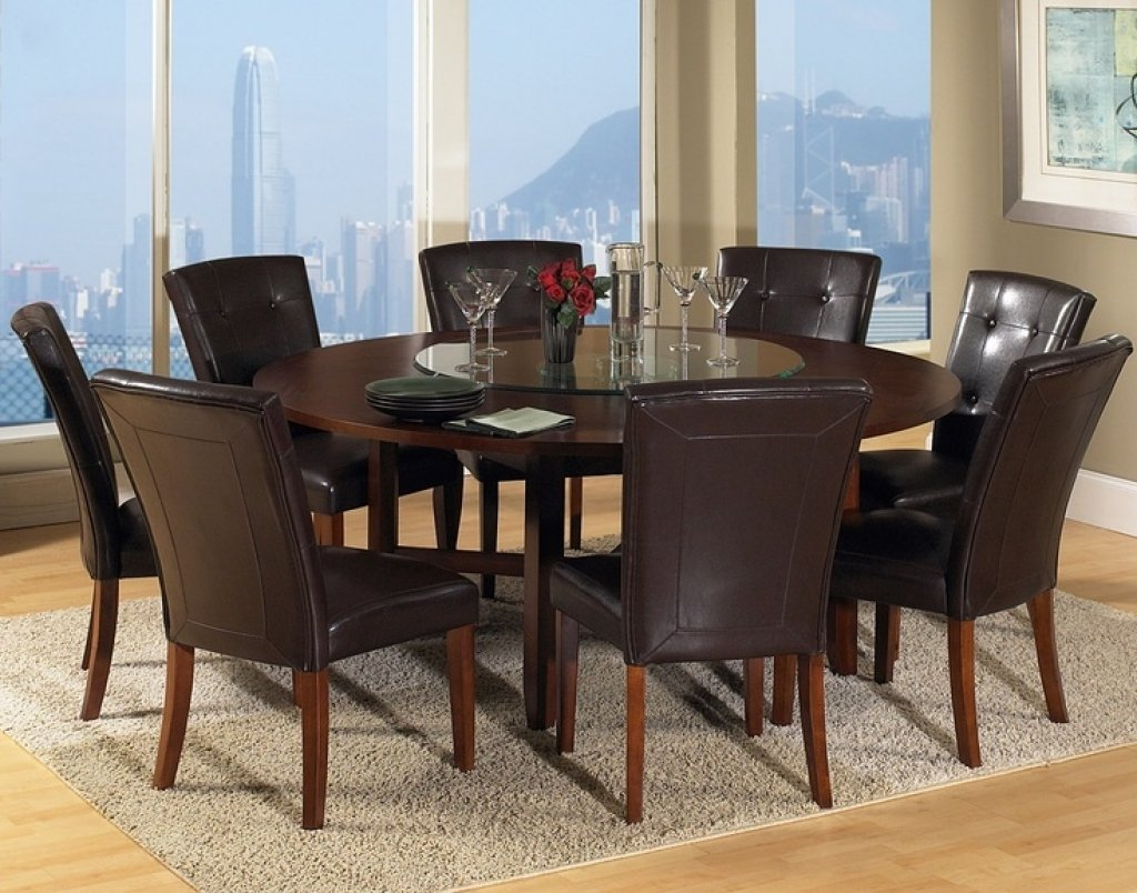 Dining Table 8 Shelby Knox Round Dining Table With Leaf Butterfly