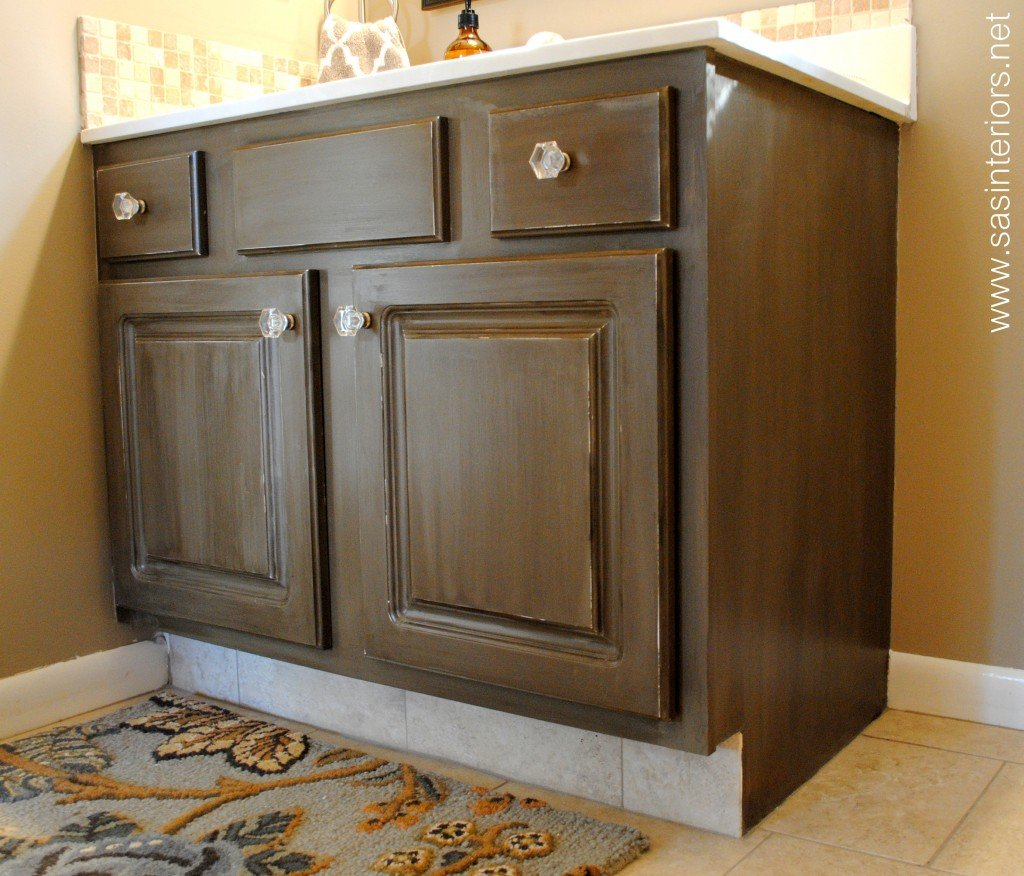 How To Paint Distressed Kitchen Cabinets - Loccie Better ...