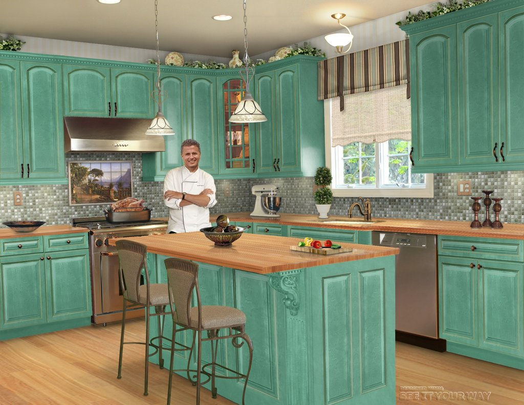 Distressed Turquoise Kitchen Cabinet Cabinet Matttroy How To Paint Distressed Kitchen Cabinets