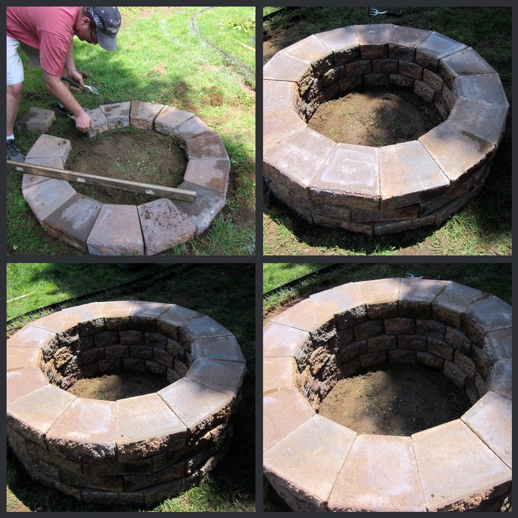 Diy Firepit 30 Geopolymer House Blog Making Fire Pit Coffee Table