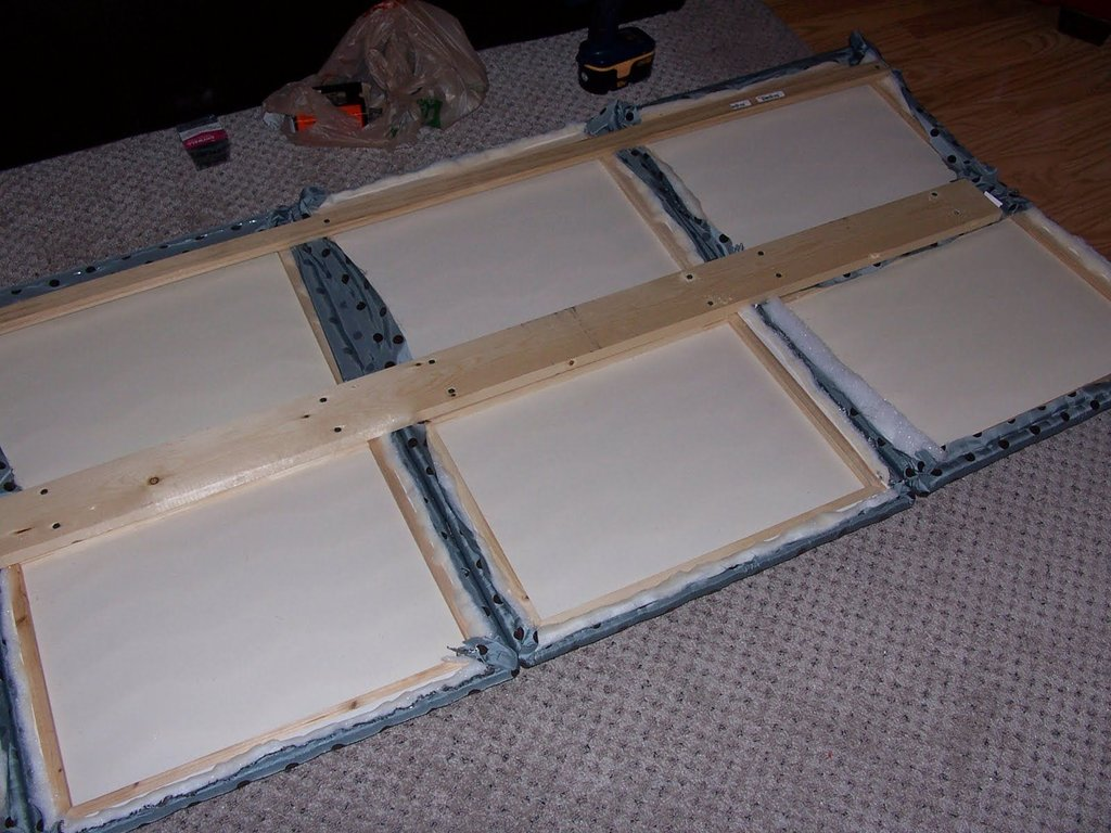 Diy Headboard King Size Bed Personality Make An King Upholstered Headboard Size Sheet