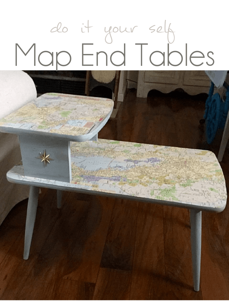 Diy Map Table Crafty Mom Pocketful Posy A Unique Square Lift Top Coffee Table