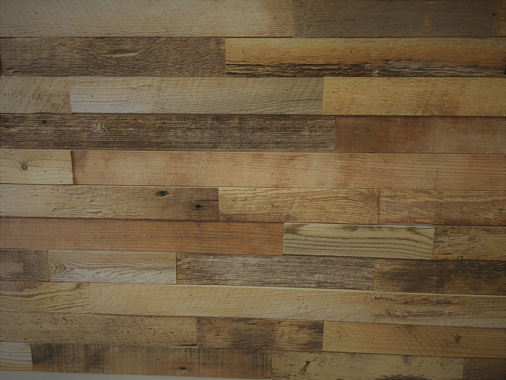 Diy Reclaimed Wood Accent Wall Brown Natural 2 Wide Reclaimed Wood Office Desk