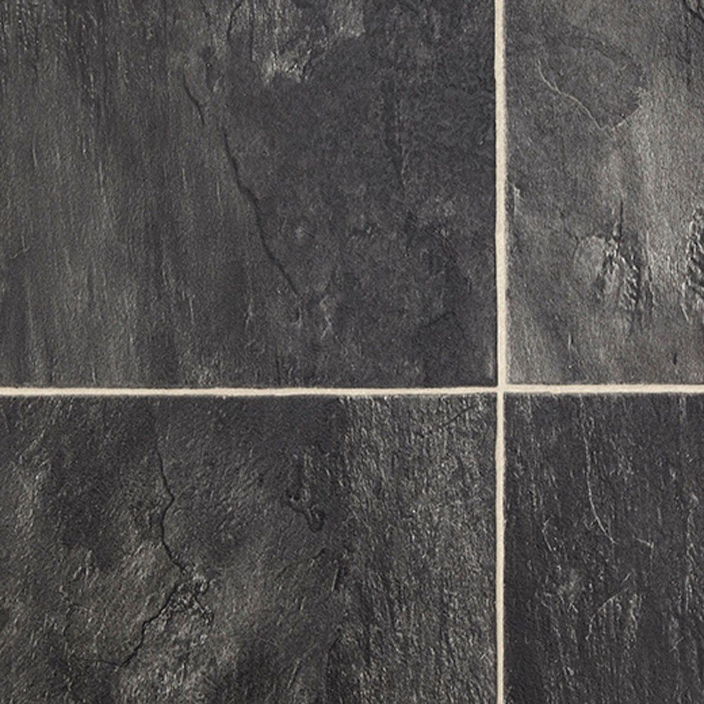 Dolomite 999 Atlantic Vinyl Flooring Buy Black Tile Tile Effect Laminate Flooring For Bathrooms