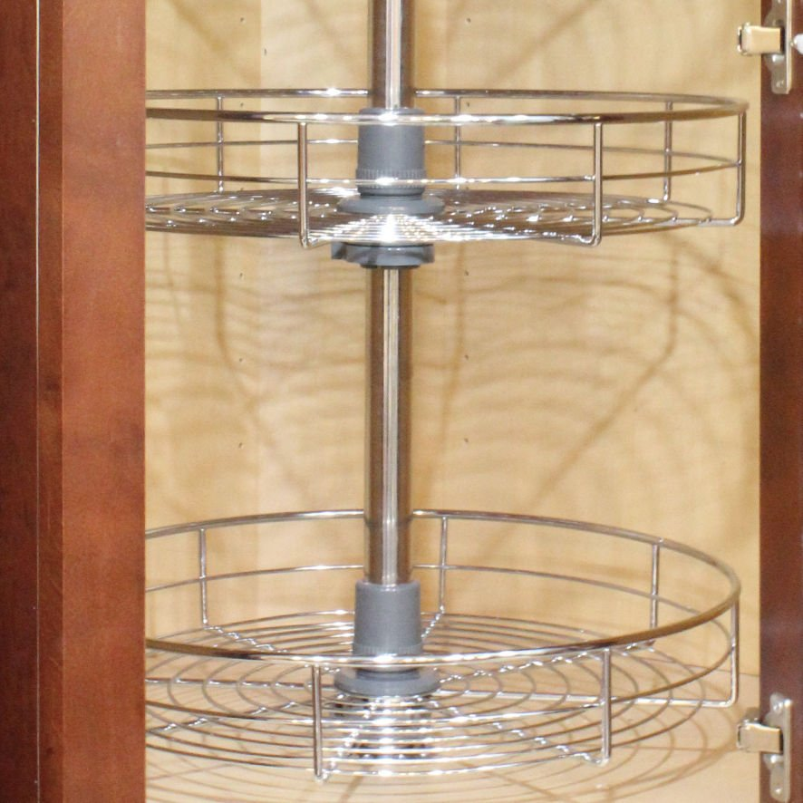 Dowell 4001 360d 30 Quot Wall Corner Lazy Susan Kitchen How To Adjust Lazy Susan Cabinet