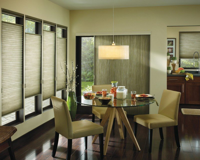 Dramatic Window Covering Trendy Sliding Glass Door Staining Wood Floors With Dark Color