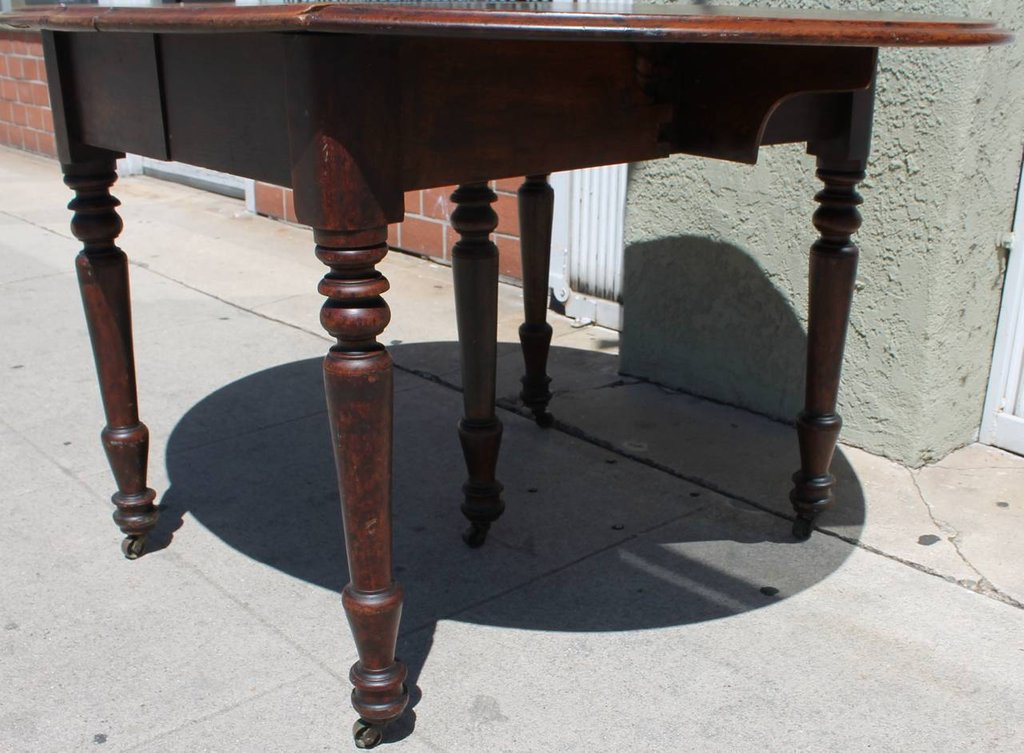 Early 19th Century Rustic Drop Leaf Table 1stdib Making An Drop Leaf Kitchen Table