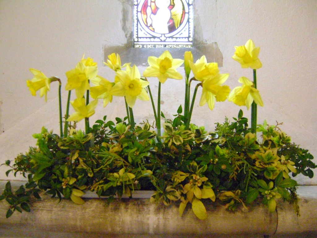 Easter Church Flower Arrangement Quote Ideas Decorating Tulip Table