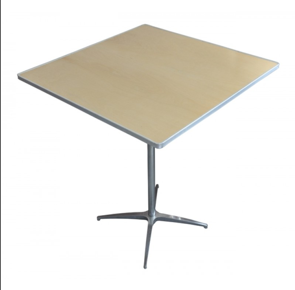 Eb Event 36 Quot X36 Quot Square Bistro Table Considering For Square Bistro Table