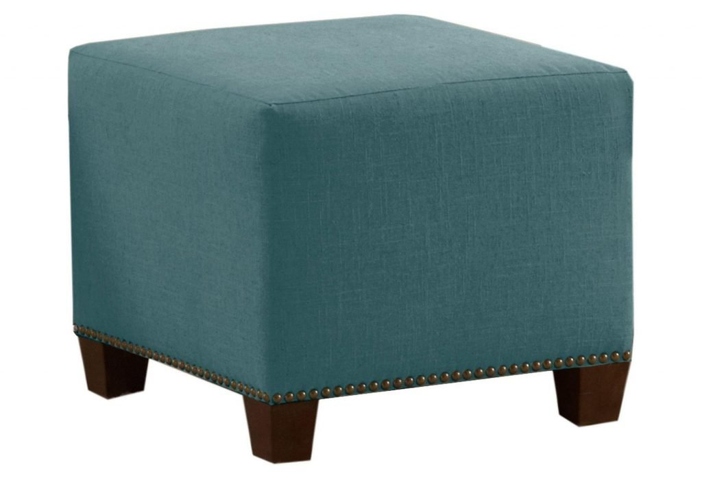 Elegant Teal Pouf Ottoman Discover Dartmoor Design Make A Tree Trunk Coffee Table