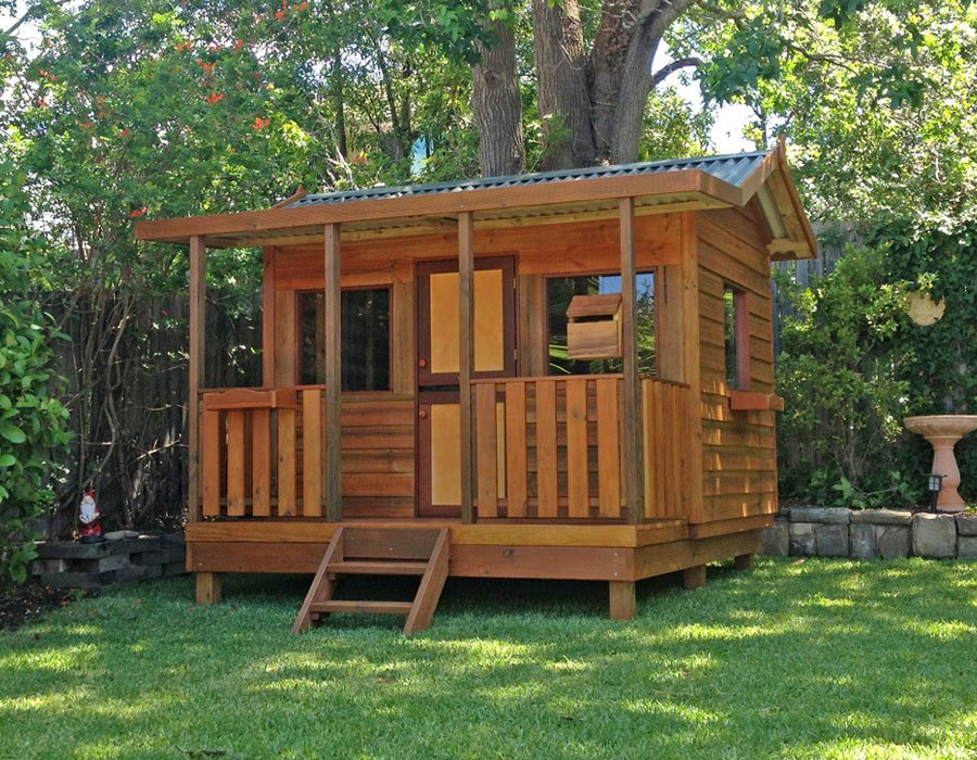 Elevated Cubby House Plan 28 Image Elevated Cubby Outdoor Wooden Playhouse With Slide