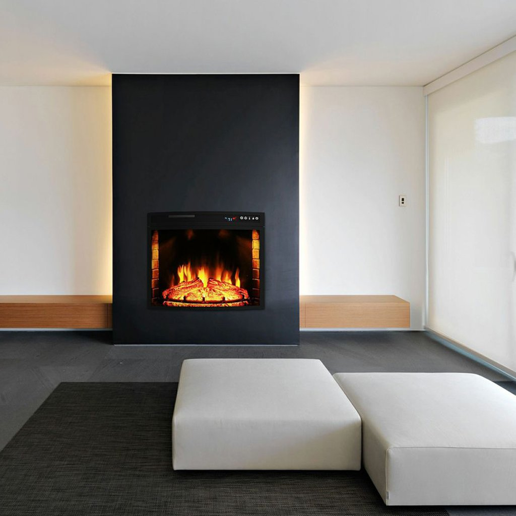 Elite Flame 23 Curved Electric Fireplace Insert Best Ideas Electric Fireplace Insert