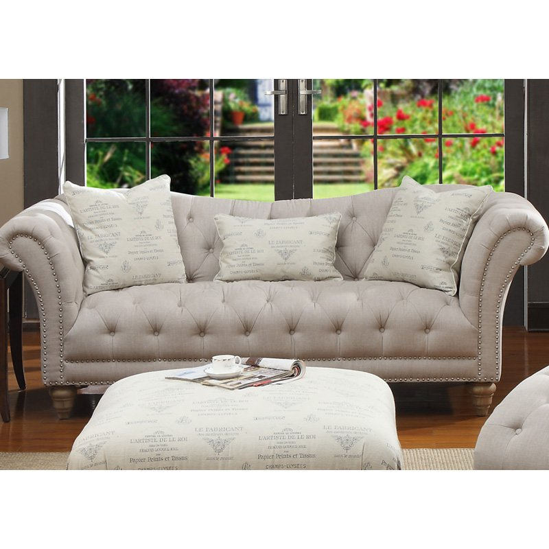 Emerald Home Hutton Sofa Sofa Loveseat Hayneedle Blue Velvet Couch