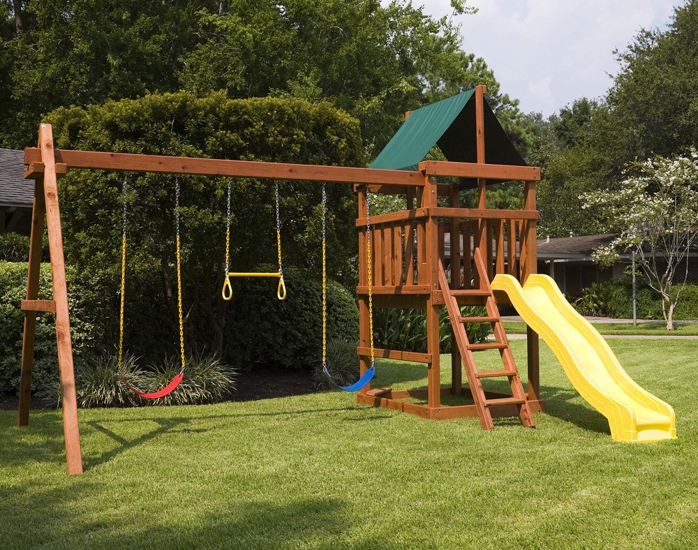 Endeavor Playset Diy Fort Swingset Plan Wooden Kitchen Playsets For Childhood Education