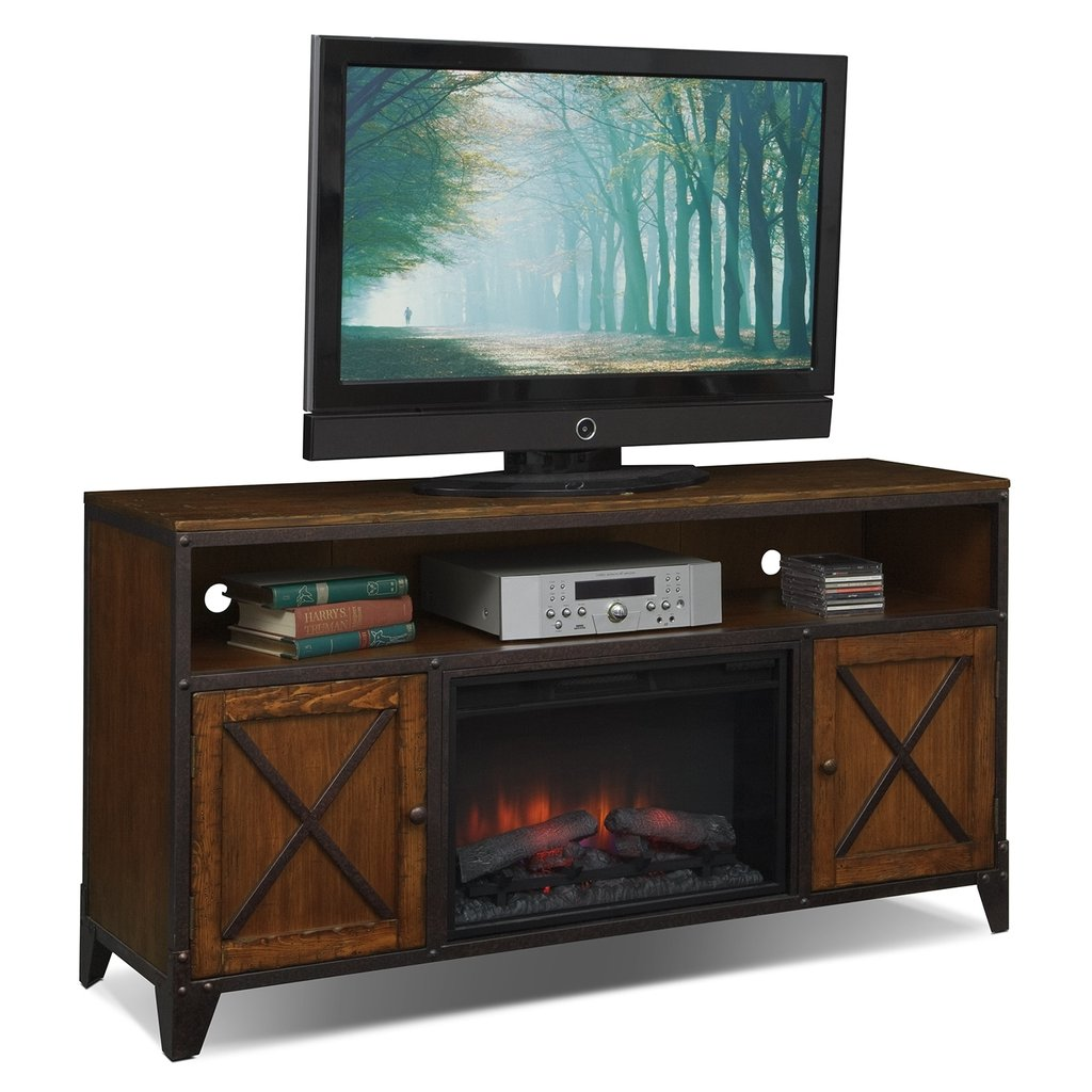 Erie Entertainment Wall Unit Fireplace Tv Stand