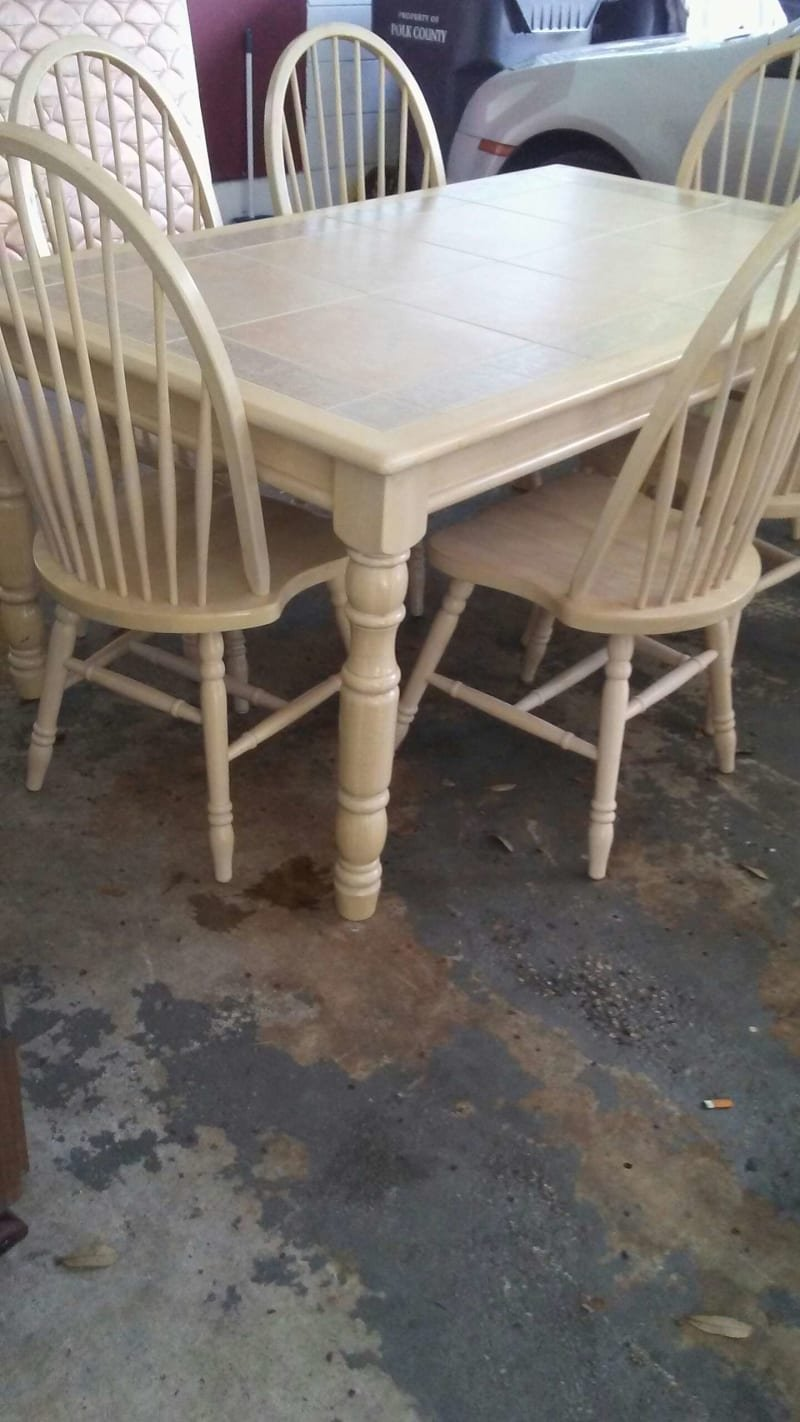 Excellent Nice Solid Wood Ceramic Tile Dining How To Tile A Reclaimed Wood Kitchen Table