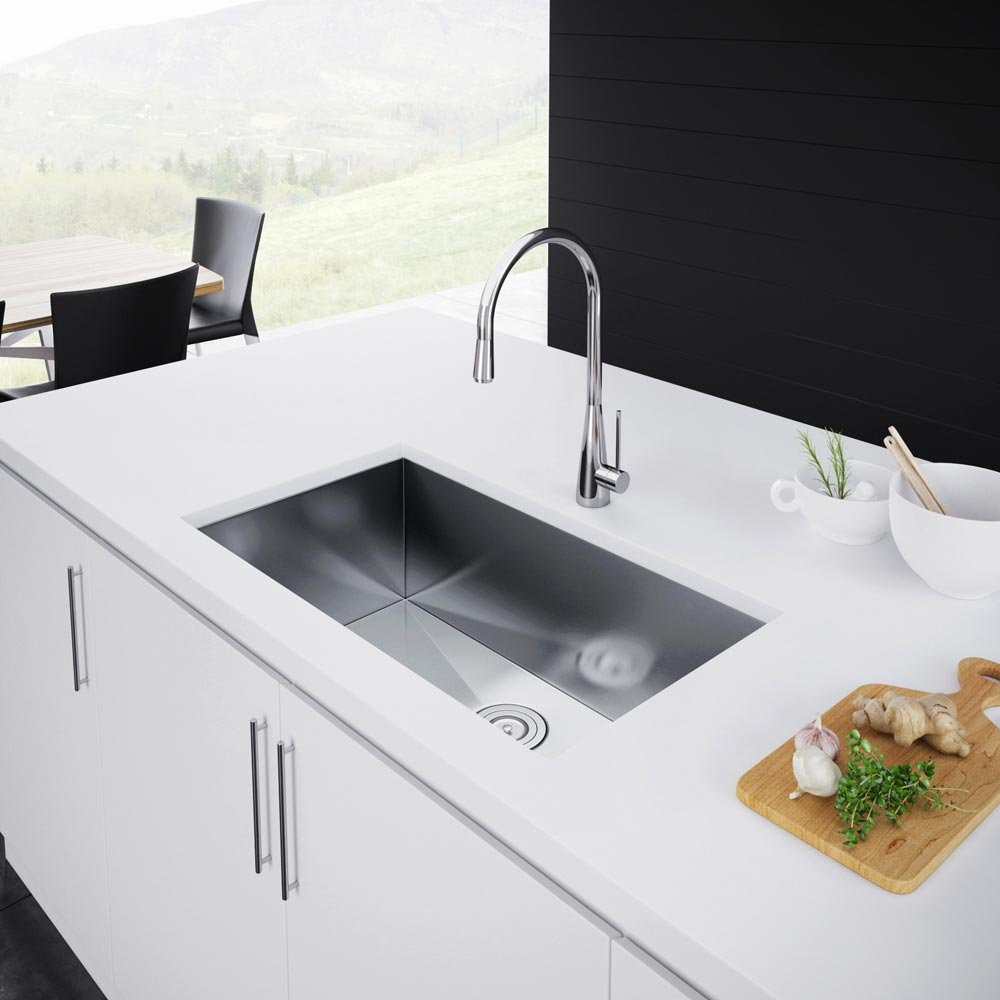 Exclusive Heritage 29 18 Single Bowl Undermount The Importance Of Good Deep Kitchen Sinks
