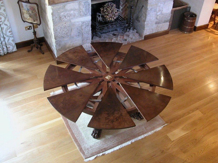 Extendable Dining Table Glass Home Idea How To Build Round Wood Table Tops