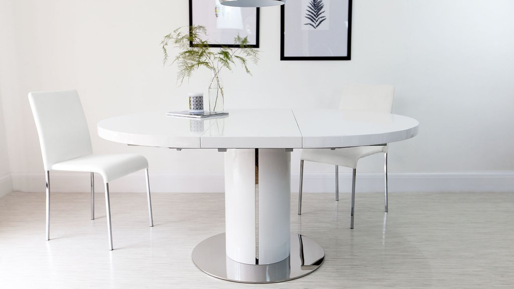 Extending Dining Table Set Inspiration Picture Classic Round Extendable Dining Table