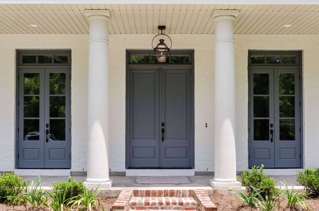 Exterier Door Solid Wood Exterior Doors