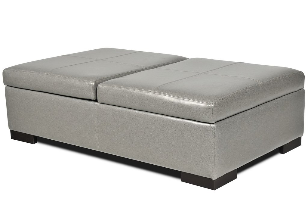 Extra Large Ottoman Storage Home Design Idea Square Leather Ottoman Coffee Table