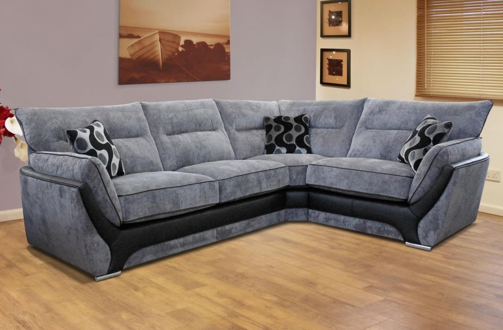 Fabric Corner Sofa Small Space Image 04 Small Room Sectional Sofas For Small Spaces Modern