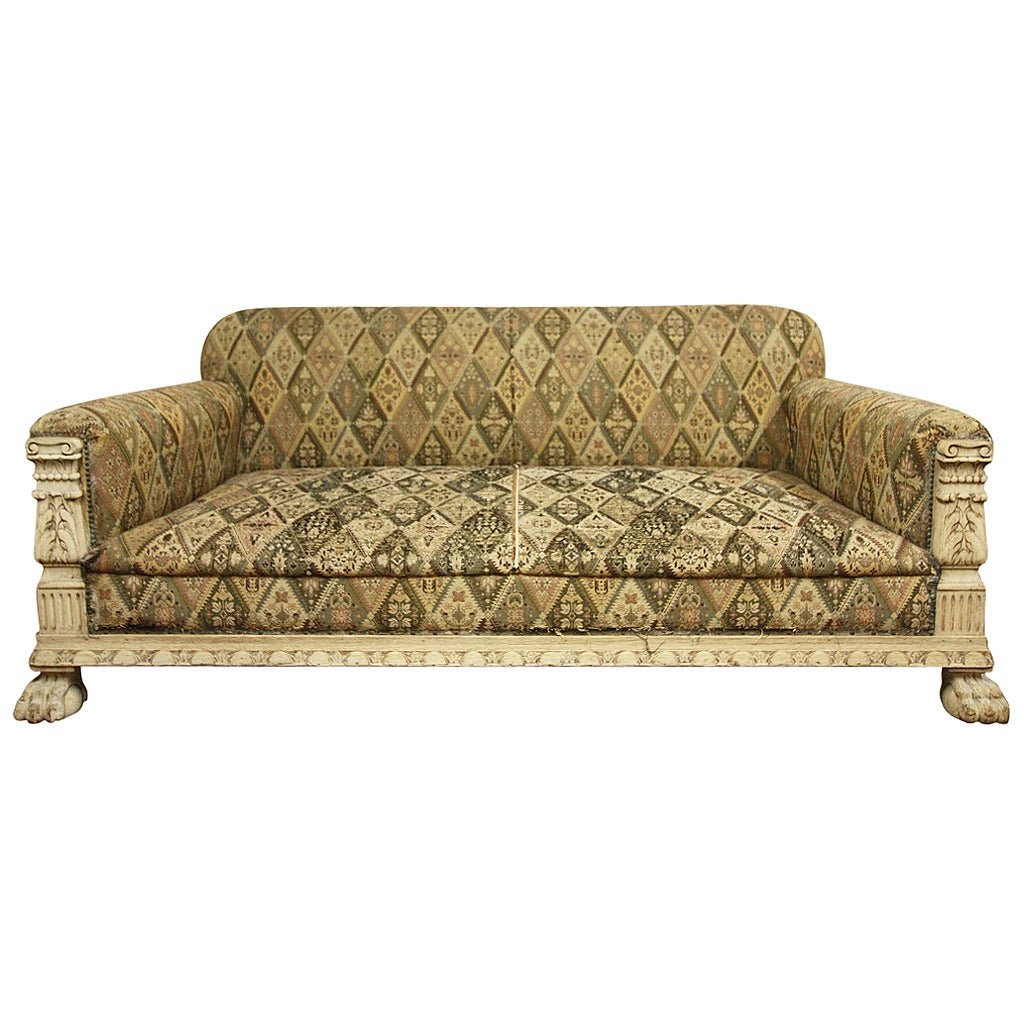 Fabulou English Antique Deep Seated Sofa 1stdib Deep Deep Sectional Sofas Living Room Furniture