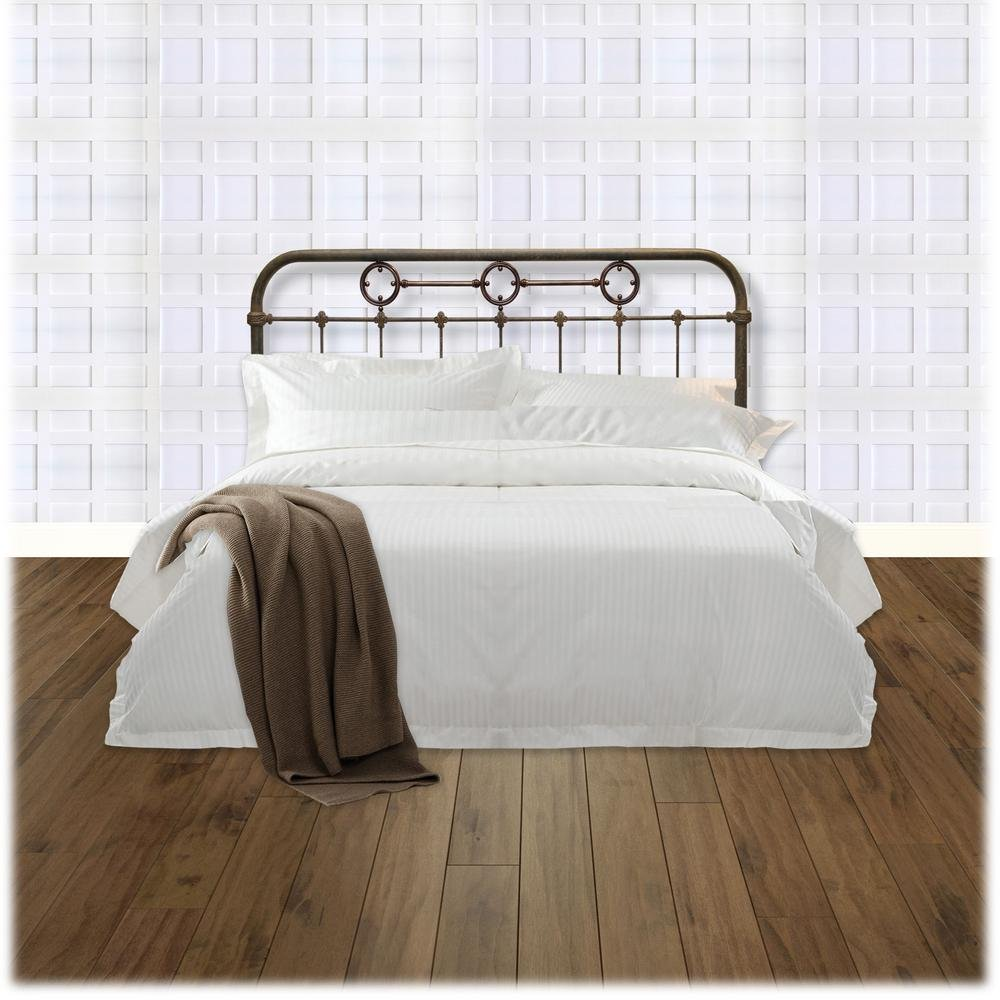 Fashion Bed Group Madera King Size Metal Headboard Panel King Size Bed Frame With Headboard