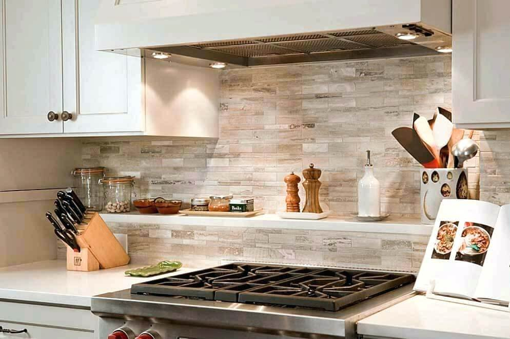 Faux Brick Backsplash Brick Kitchen Award Winning Kitchen Faux Brick Flooring Finish