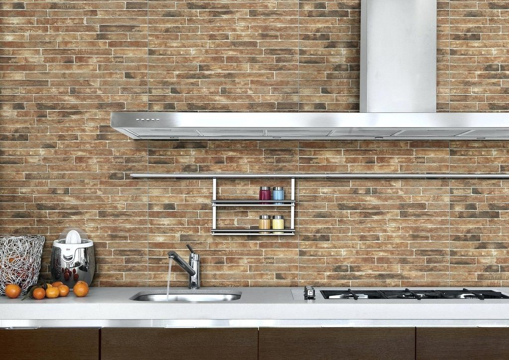 Faux Brick Wall Decor Fake Brick Wall Interior Design Faux Brick Flooring Finish