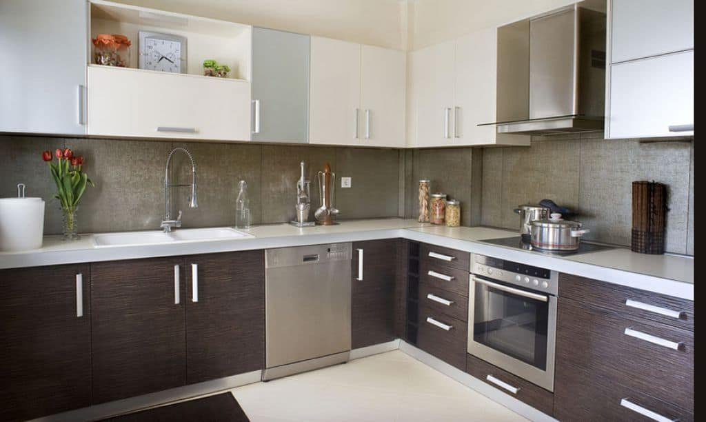 Fitted Kitchen Tone Cabinet Color Modern Kitchen Islands With Stools Ideas