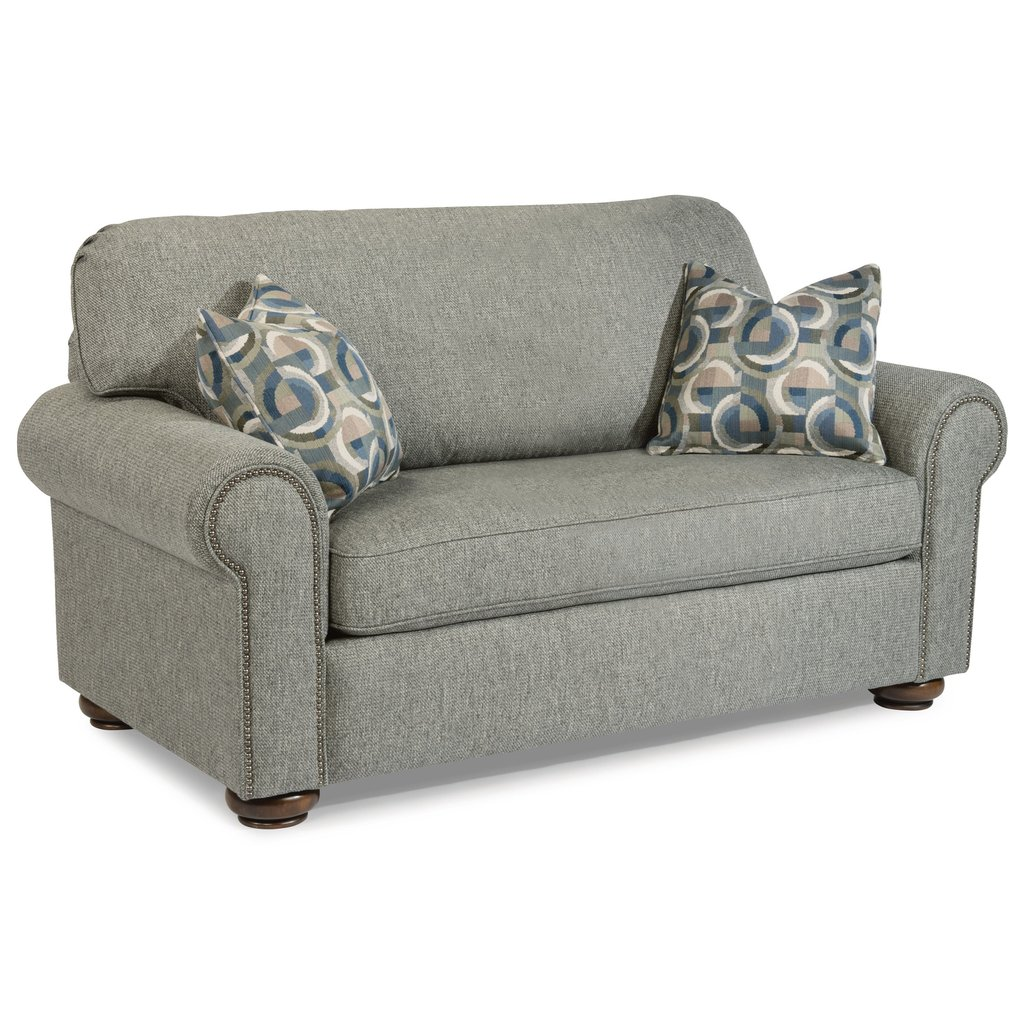 Flexsteel Preston Traditional Twin Sleeper Sofa How To Make Twin Sleeper Sofa
