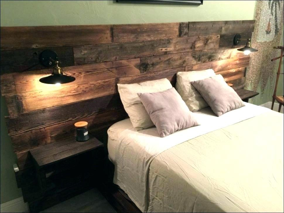 Floating Night Stand Headboard Nightstand Attached How To Make An Bookcase Headboard