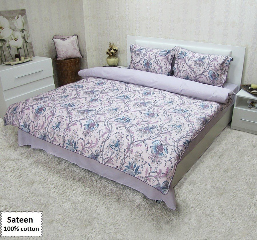 Floral Duvet Cover Queen Size Buy Online Beddingeu How To Make A Header Two Queen Size Headboards