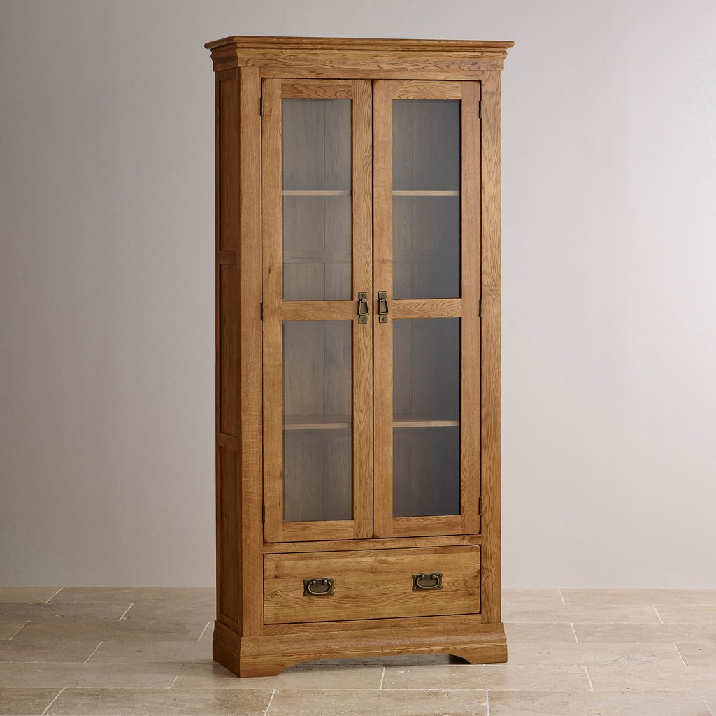 French Farmhouse Display Cabinet Solid Oak Oak How To Make Baby Changing Table Dresser