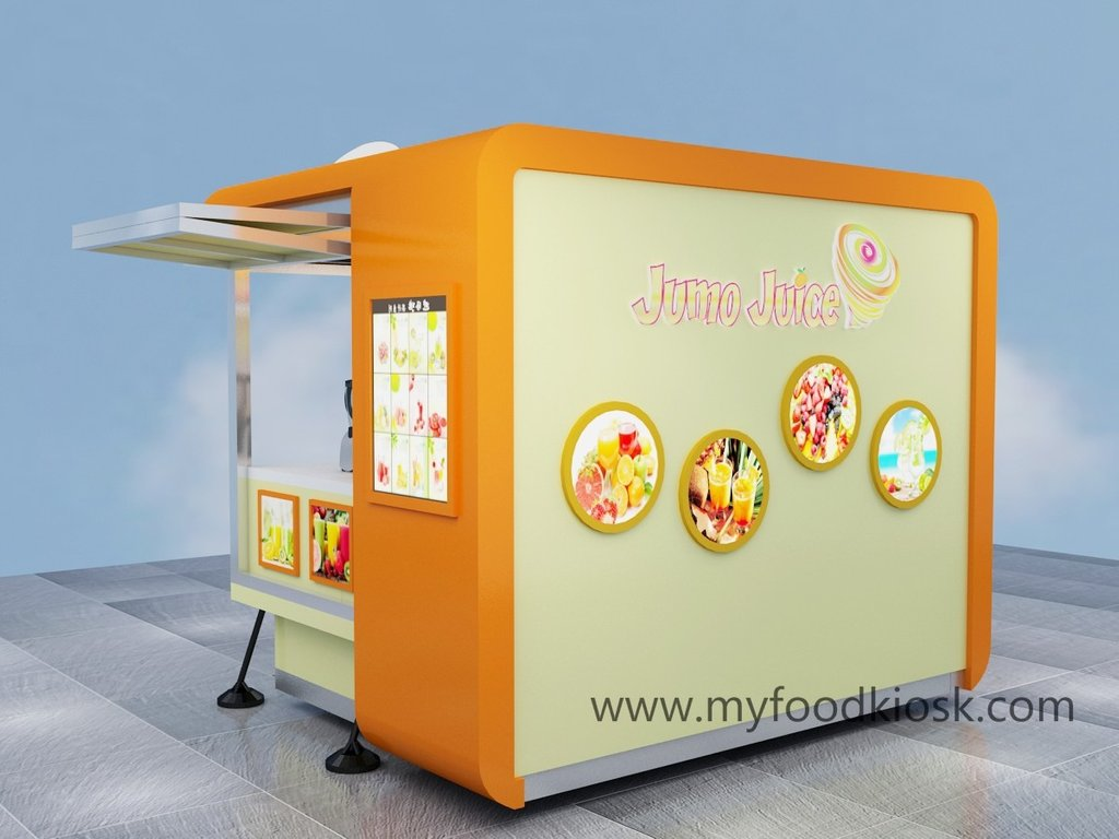 Fresh Juice Bar Counter Soft Ice Cream Kiosk 2 Drawer Lateral File Cabinet Wood