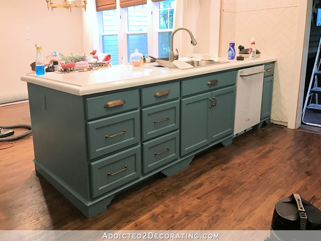How To Paint Distressed Kitchen Cabinets – Loccie Better Homes ...