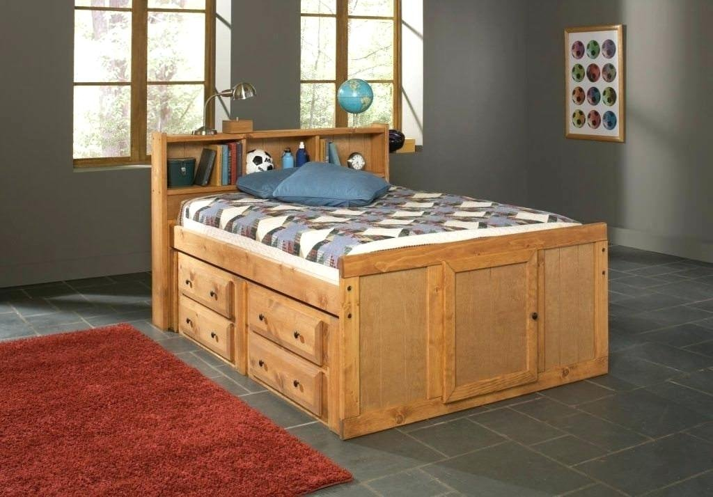 Full Size Bed Storage Headboard King Size Bed Frame With Headboard