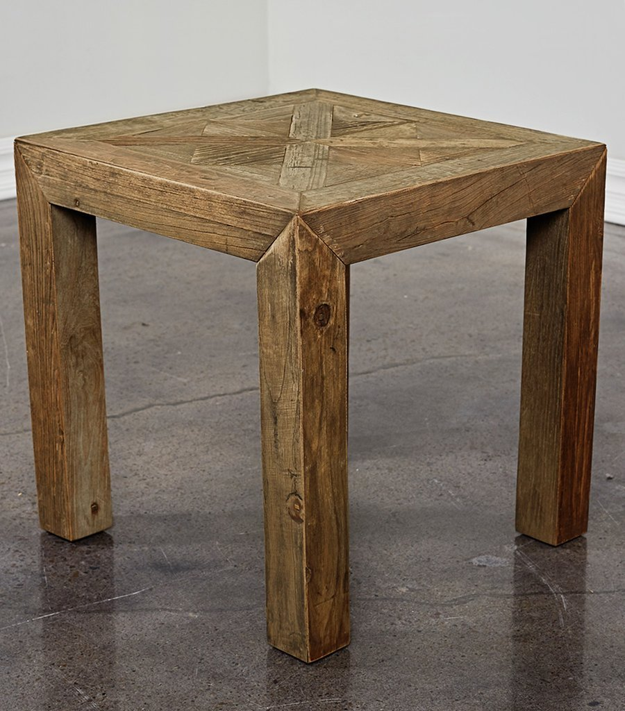Furniture Beauty Home Furniture Reclaimed Wood Side How To Reclaimed Wood Side Table